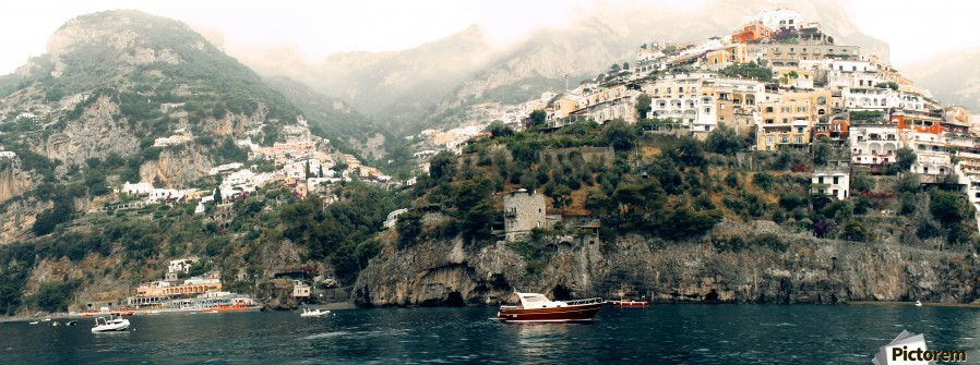 Panoramic Positano - Amalfi Coast - Italy  Print