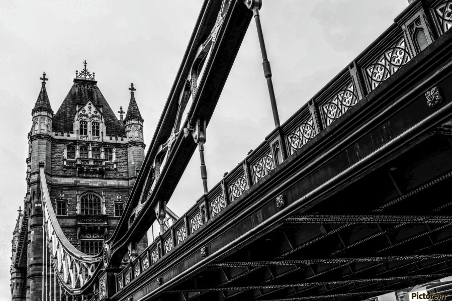 Tower Bridge Close up - London - Uk  Print