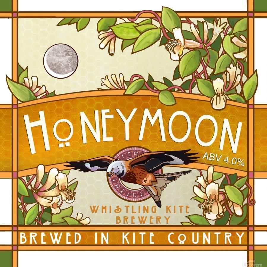 Whistling Kite Brewery: Honeymoon  Print