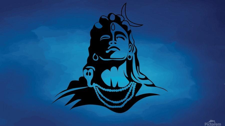 Lord Shiva  Print
