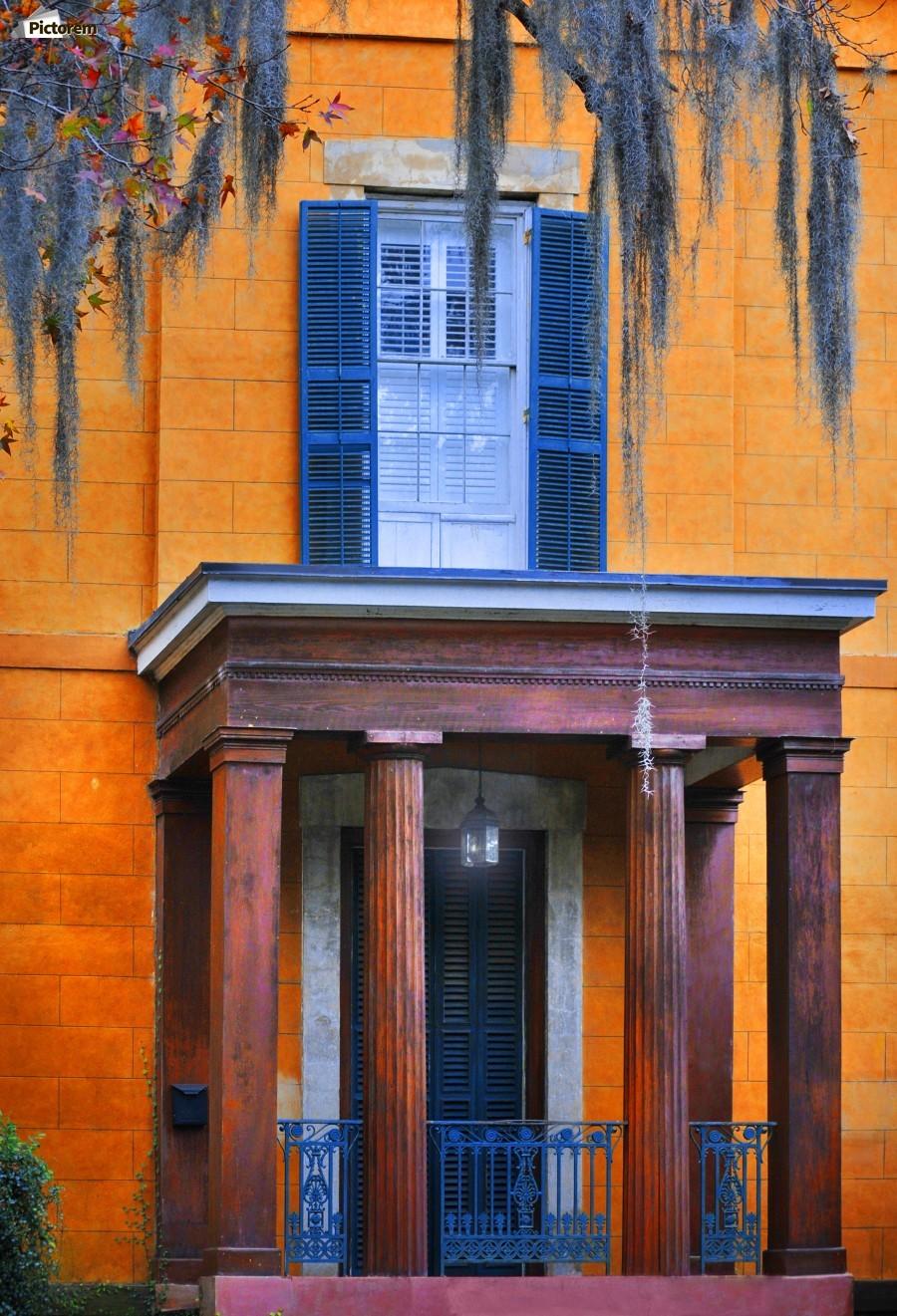 Savannah Porch  Print