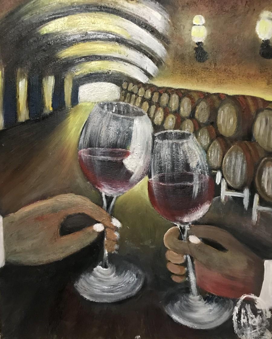 A wine Tasting   Print