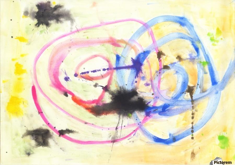 Relationship 1 (Joan Miro tribute)  Print