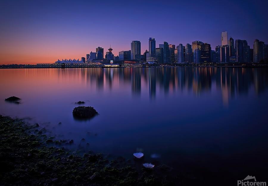 Vancouver Skyline  Print