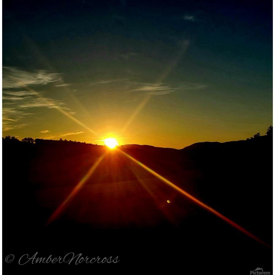 Glinting horizon  Print