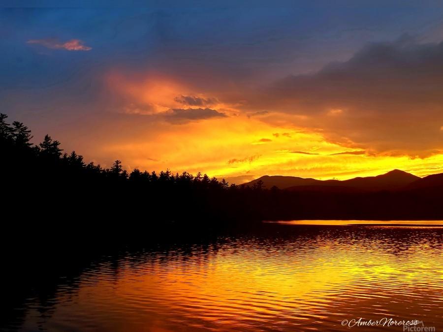 Firey Sunset  Print