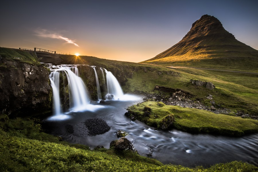 Fairy-Tale Countryside in Iceland  Imprimer