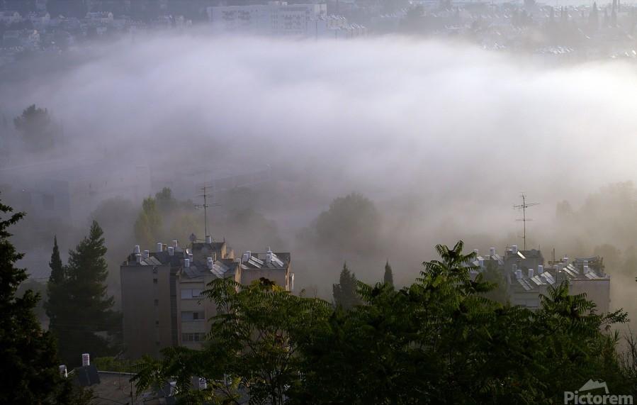 Foggy morning N2  Print