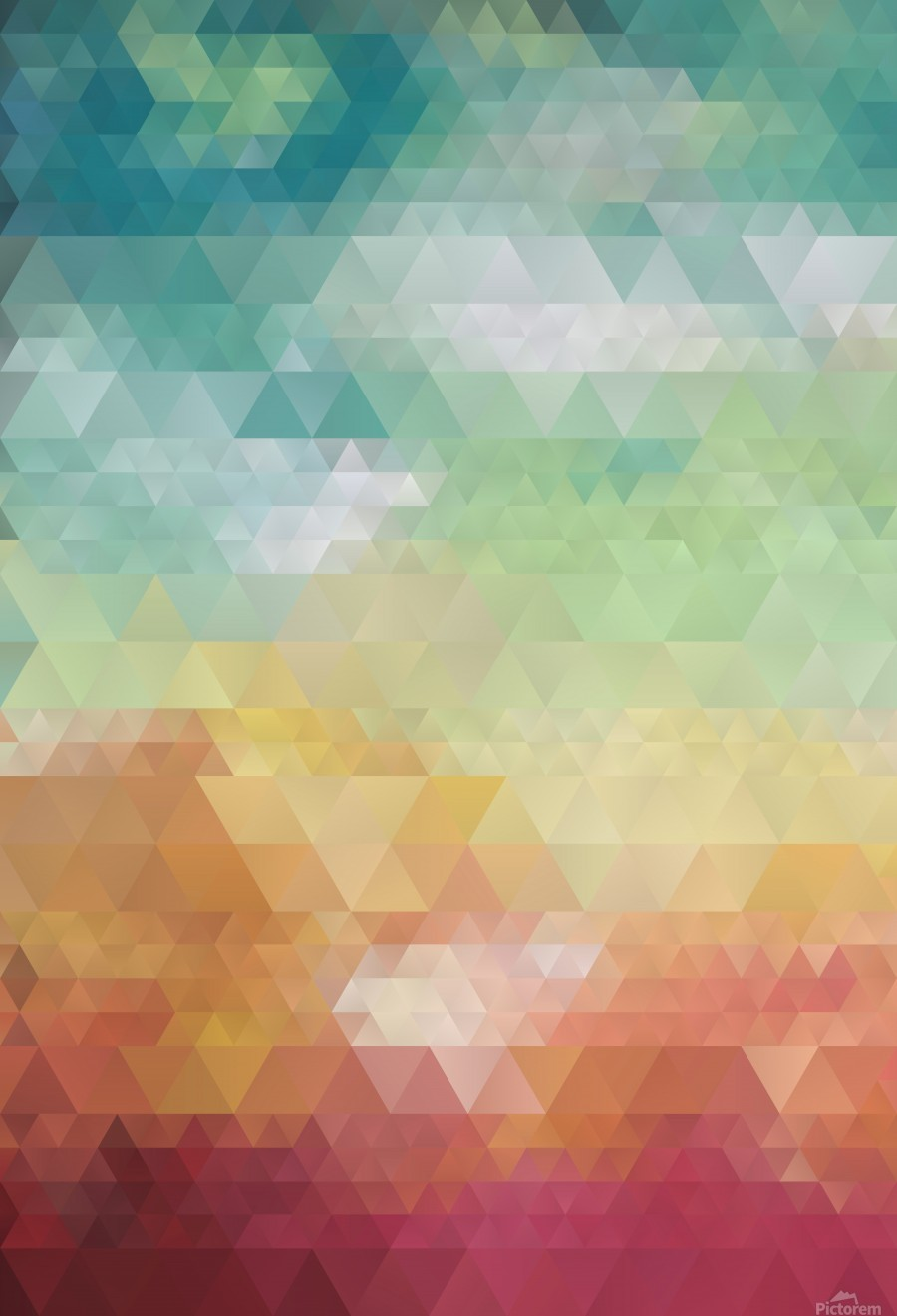 Abstract Composition 550  Print