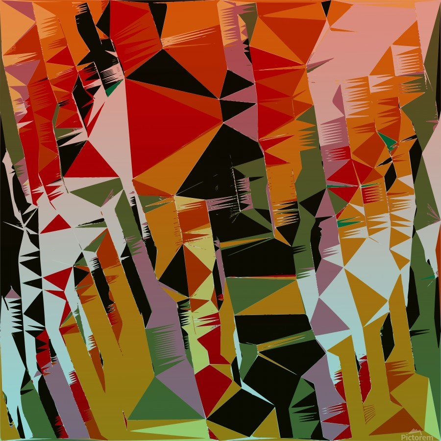 Abstract Composition 636  Print