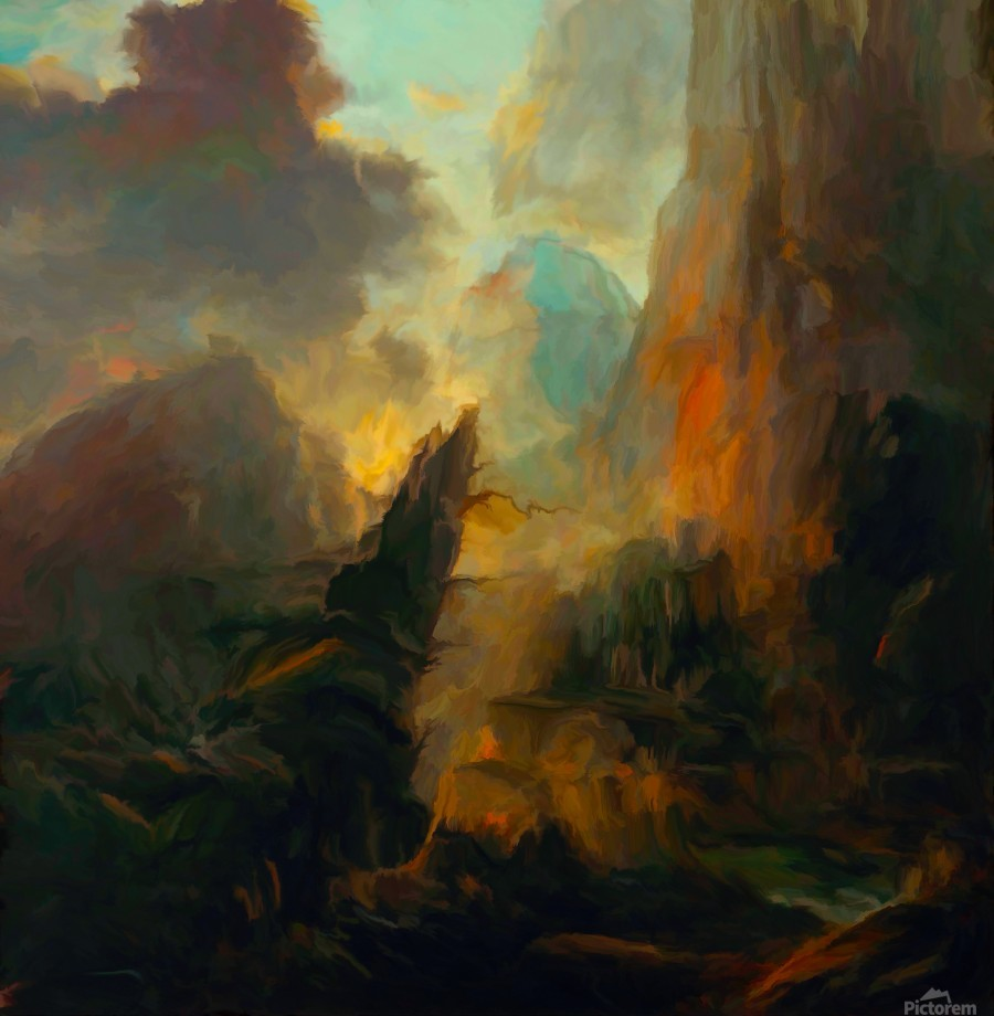 Fierce Landscape  Print