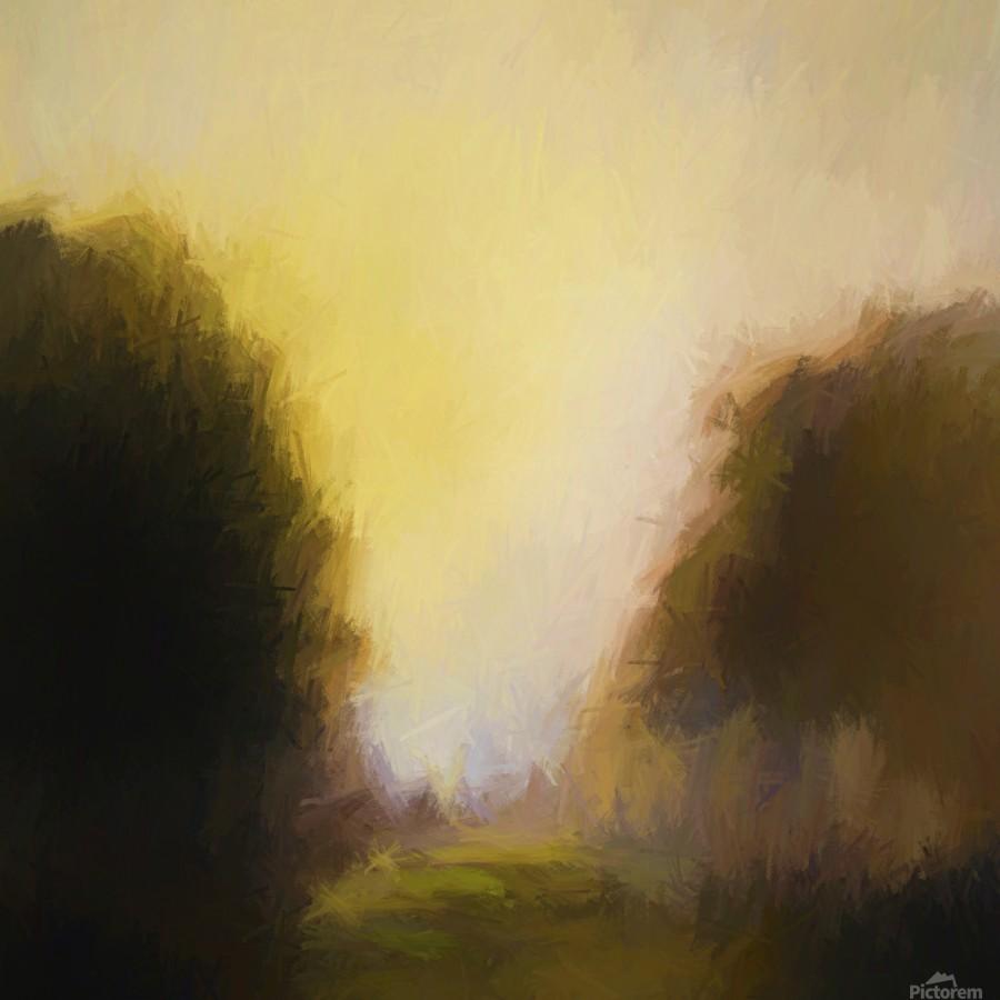 Impressionist landscape  Print