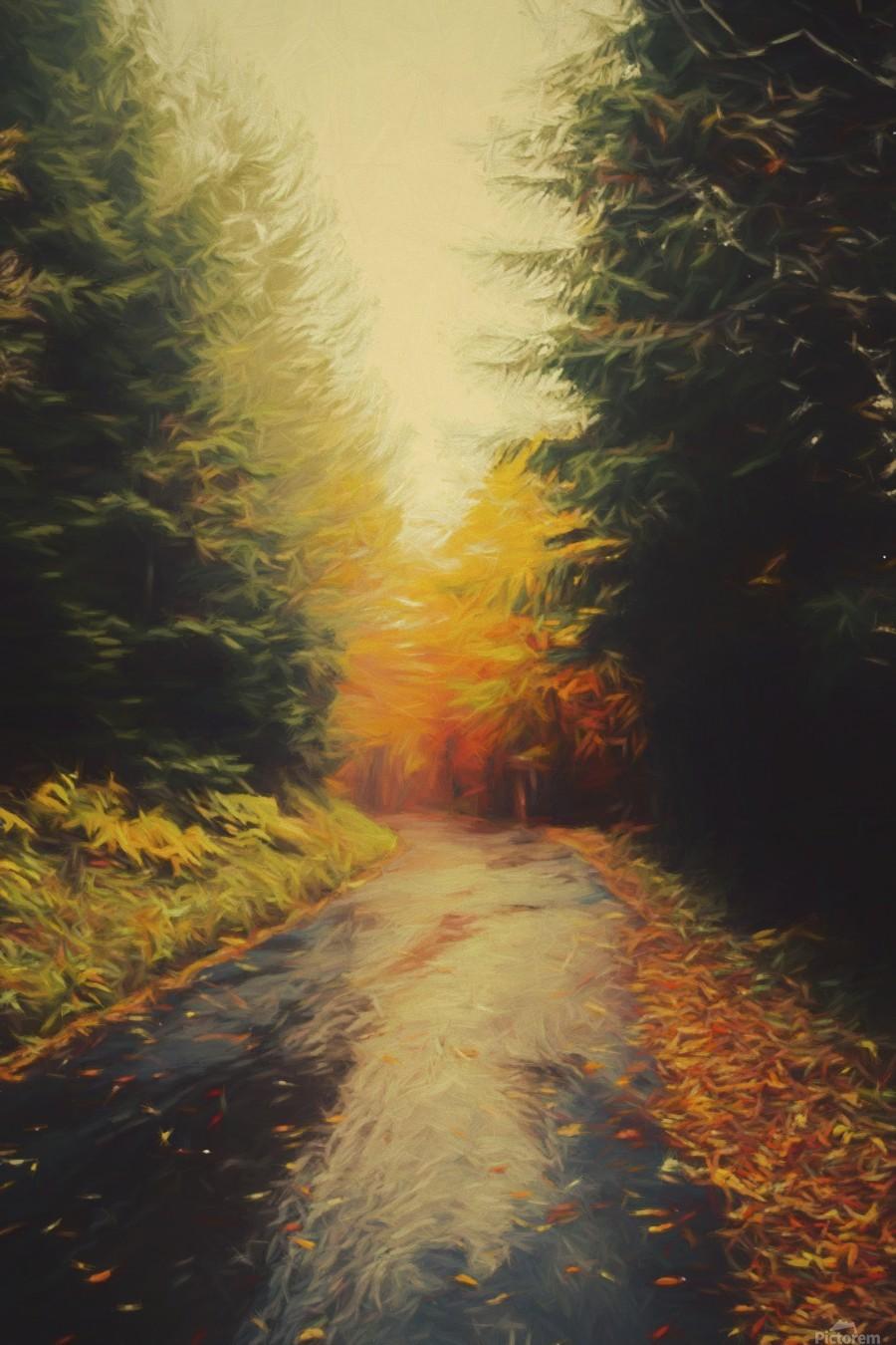Autumnal Landscape 4  Print