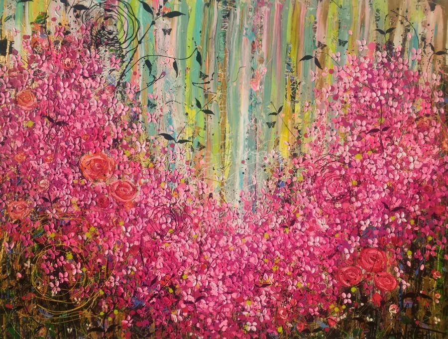 Floral Cascade   Print
