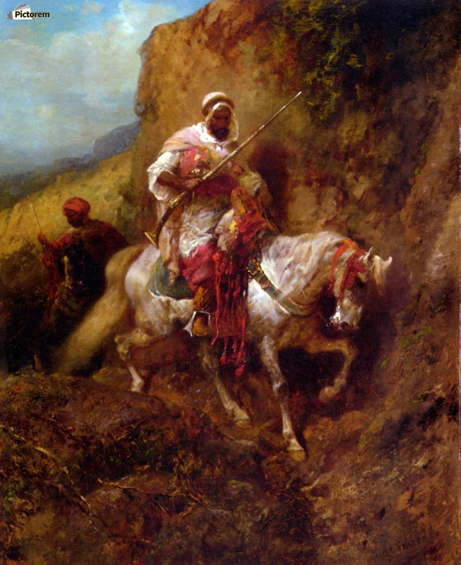 Arab warrior  Print