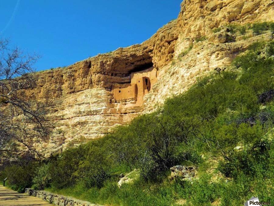Montezuma's Castle   Imprimer