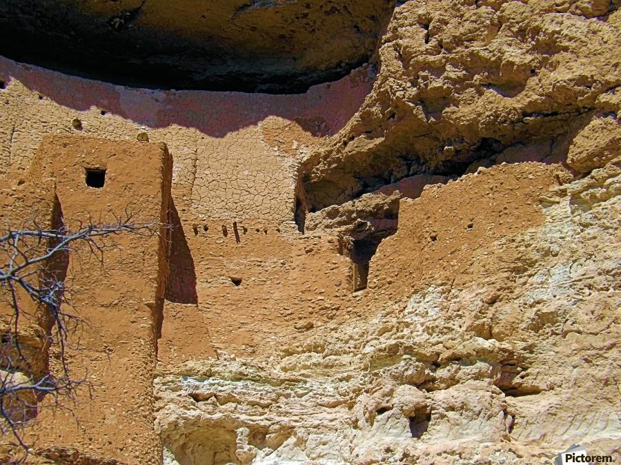 Montezuma's Castle-4  Imprimer