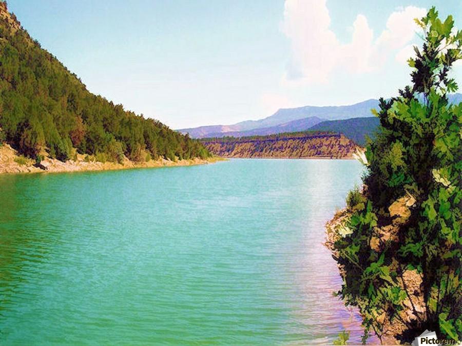 Utah Lake  Imprimer
