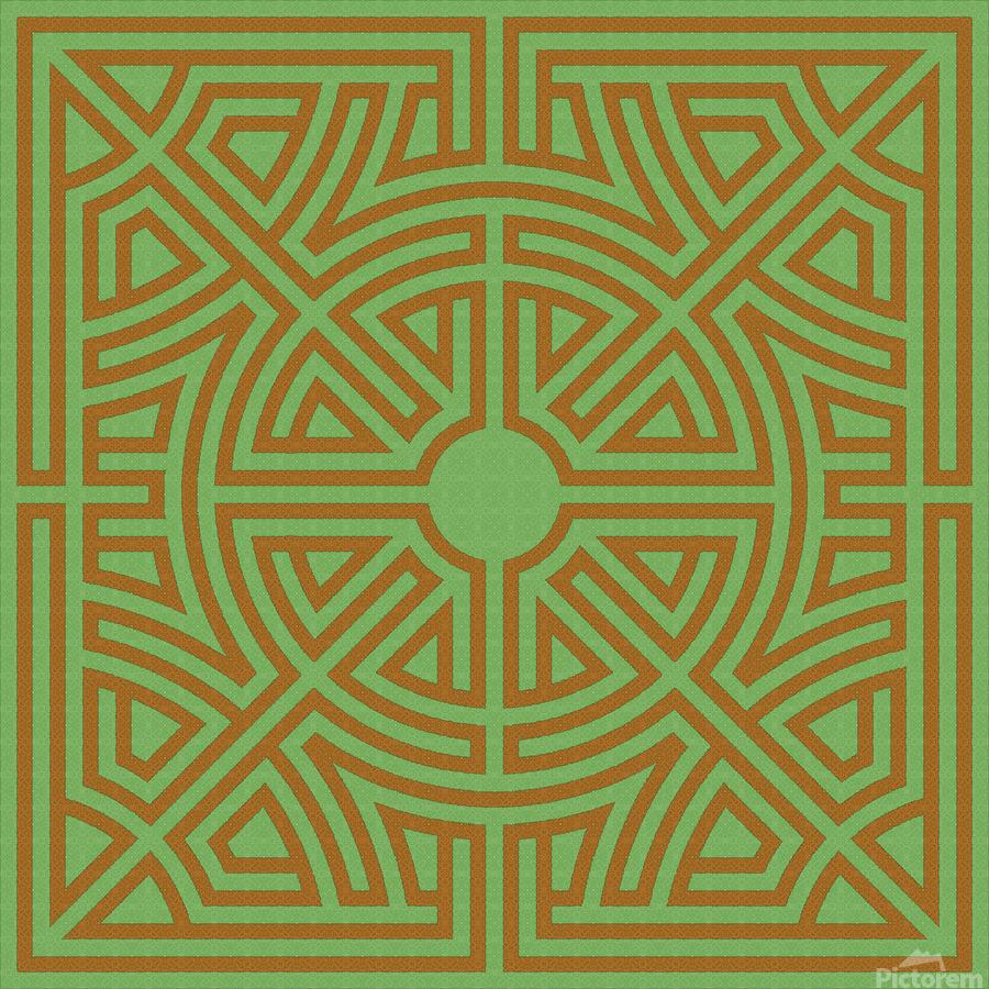 Labyrinth 6001  Print