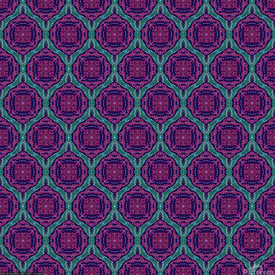 Mosaic 58  Print