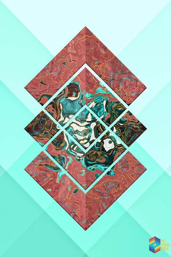 Geometric XX  Print