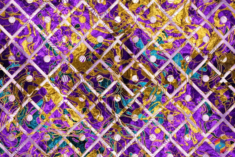 Pattern LXXXII  Print