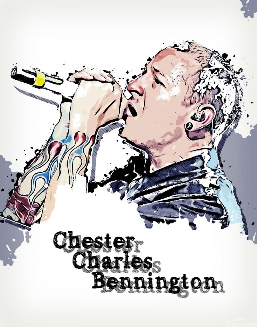 Chester Charles Bennington  Print