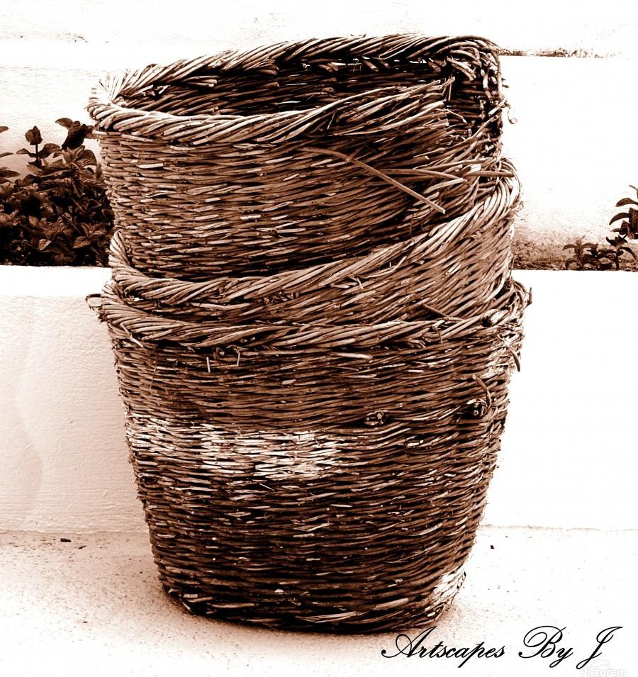 Grape Baskets  Print