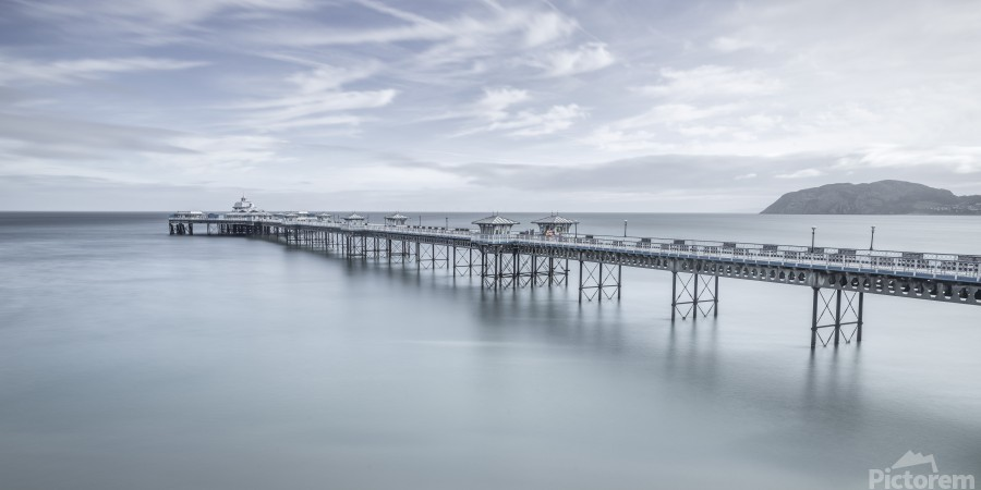 Llandudno Pier, North Wales  Print