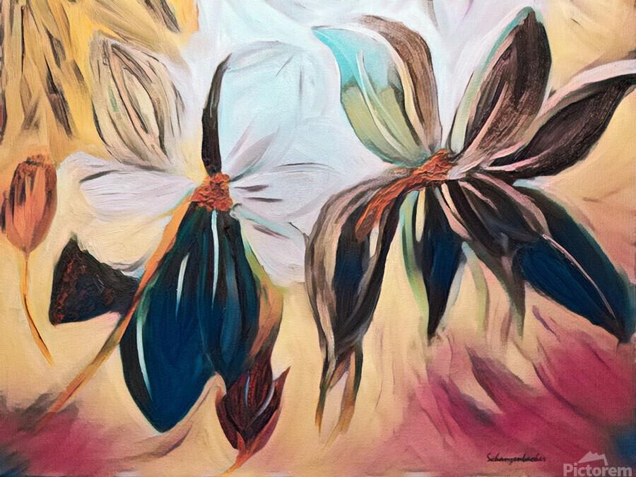 Magnolias   Print