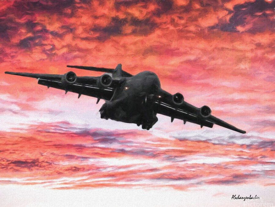 Soaring in the sky  Print