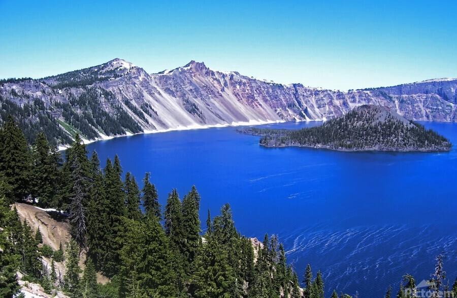 Crater Lake Oregon  Print
