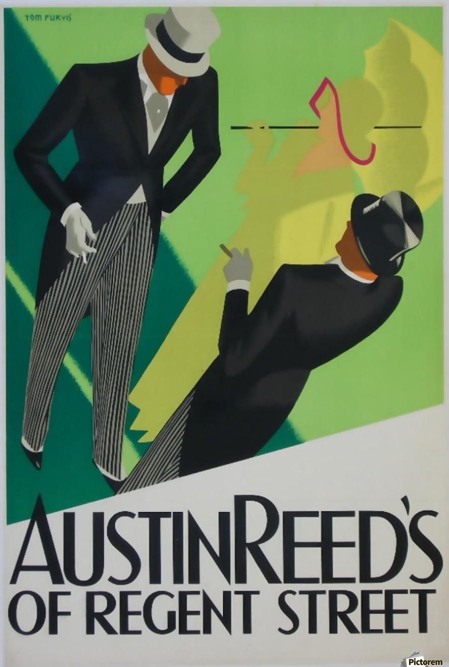 Austin Reed Of Regent Street Poster Vintage Poster