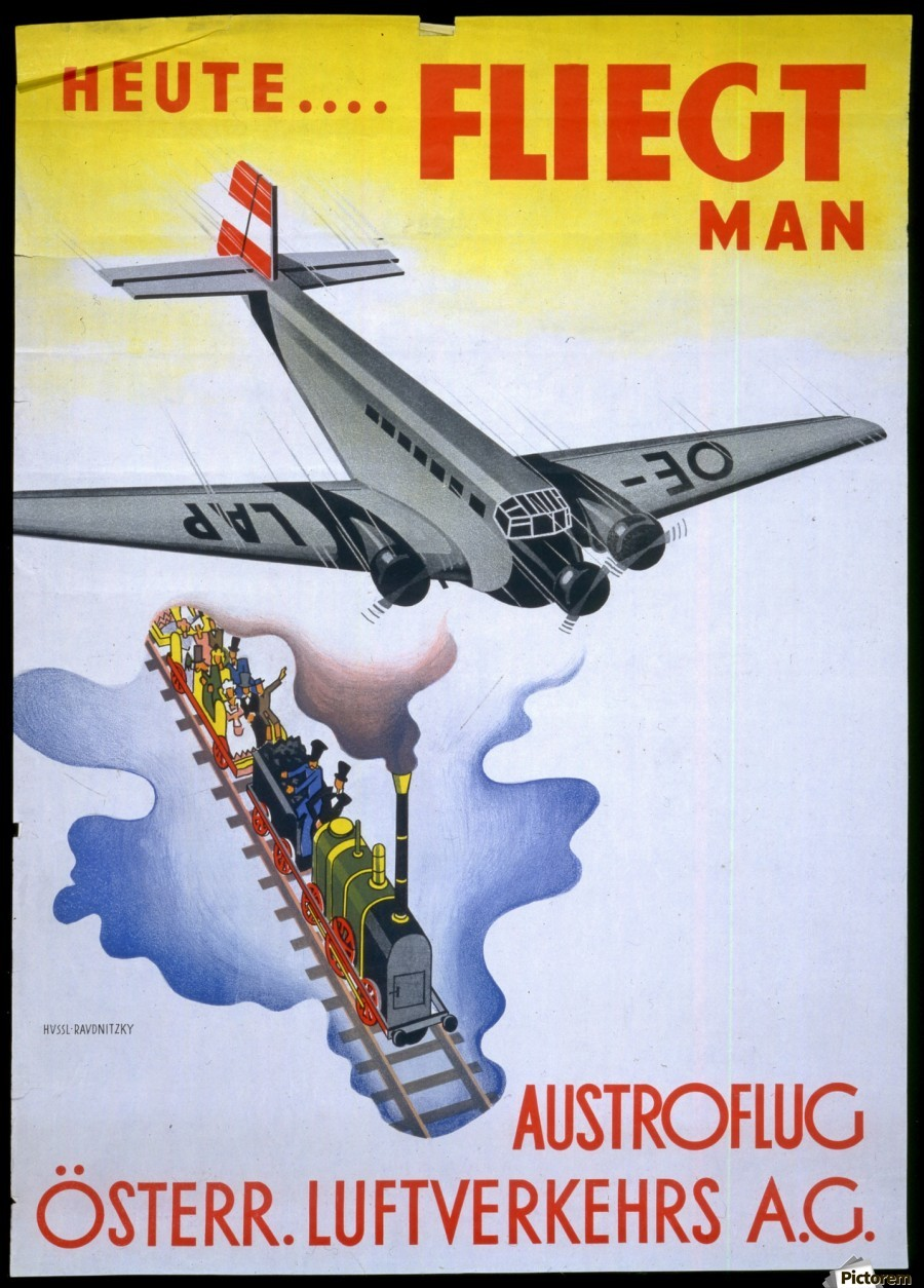 Austroflug  Print