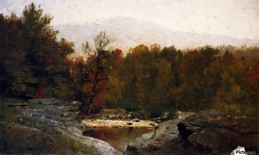 Autumn, Catskill Mountains in the Mist  Print