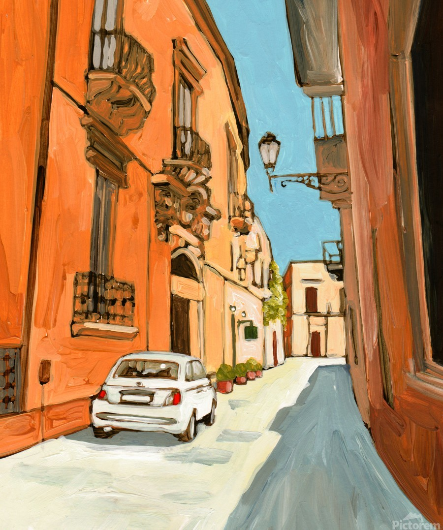 Lecce  Print