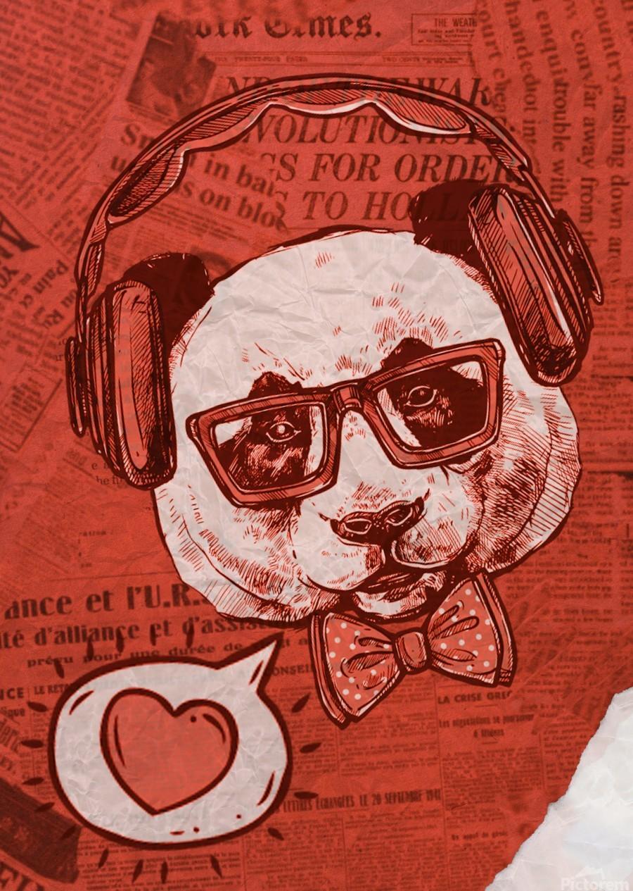 Cool Panda  Print