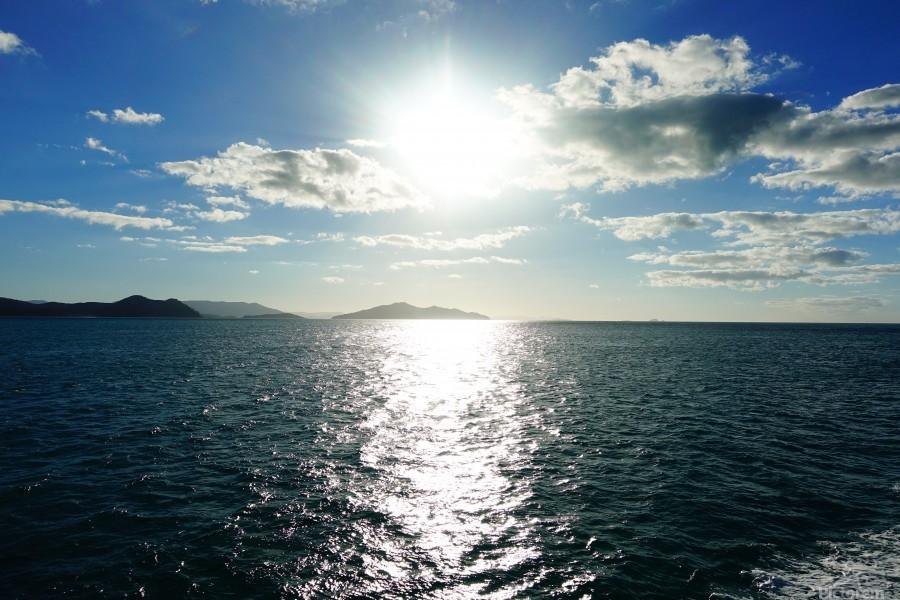 Sea Sun  Print