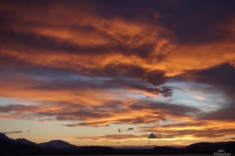 Icelandic Sunrise  Print