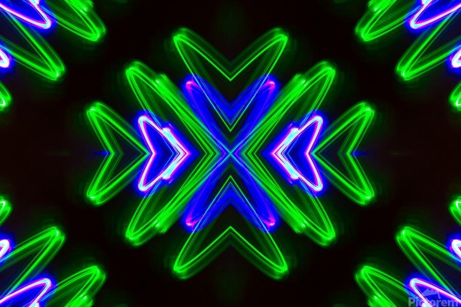 Neon Lights   Print
