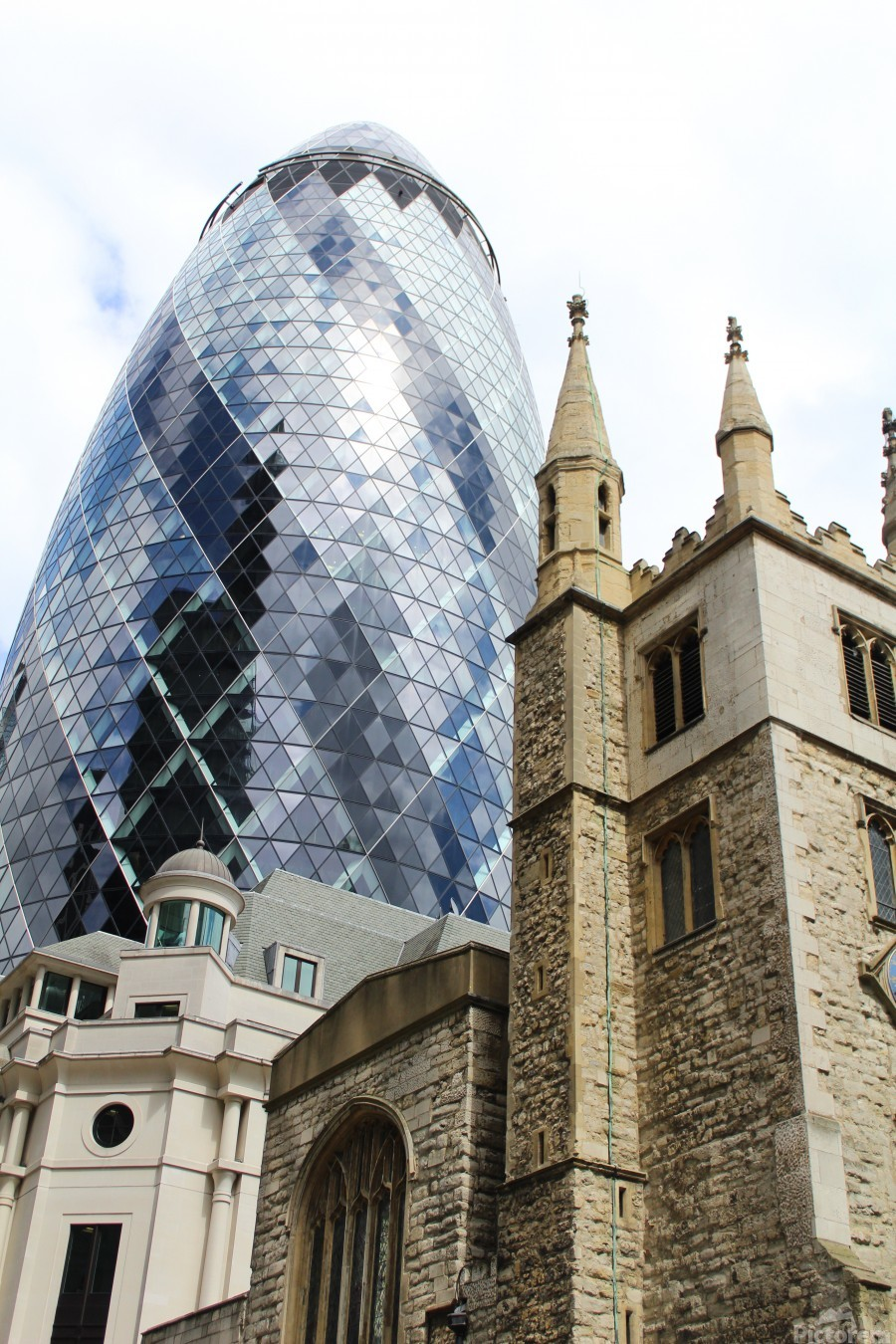 London old and new  Imprimer