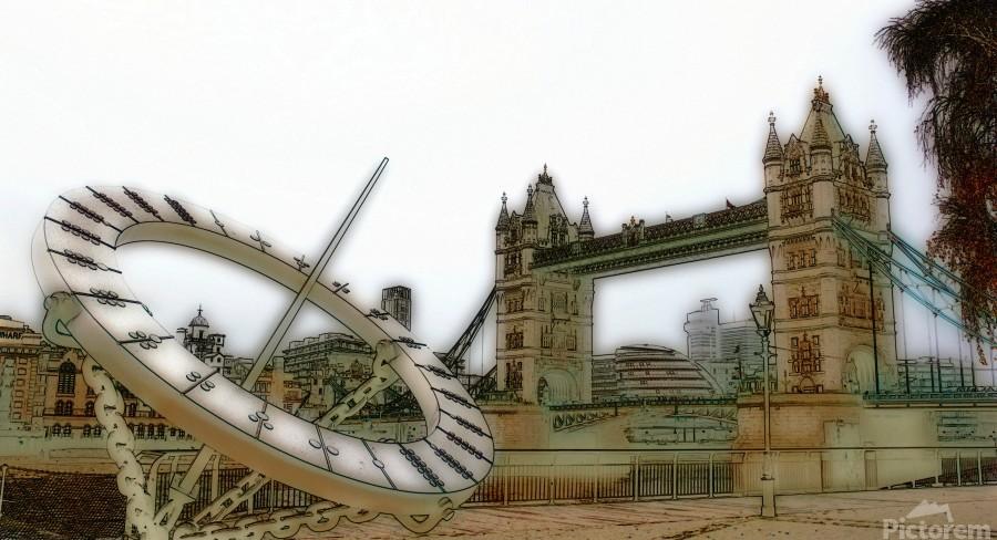 London fine art  - Tower bridge  Imprimer