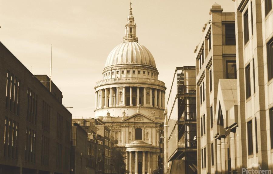 London - St  Pauls Cathedral  Print