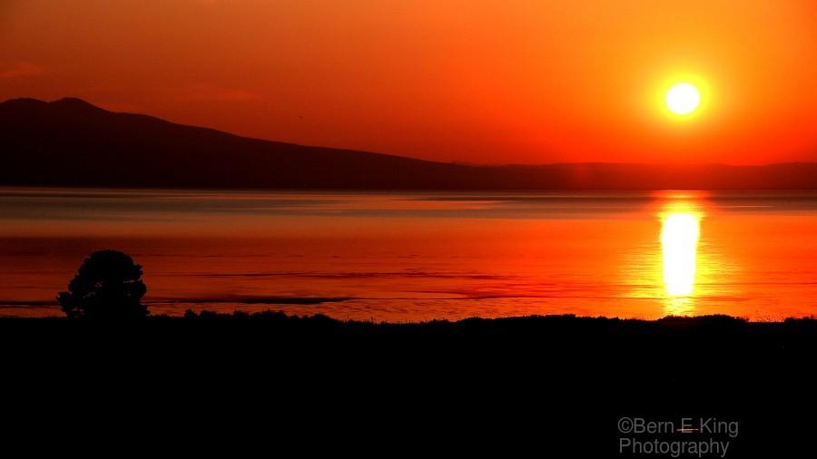 Honey Lake Sunrise  Print