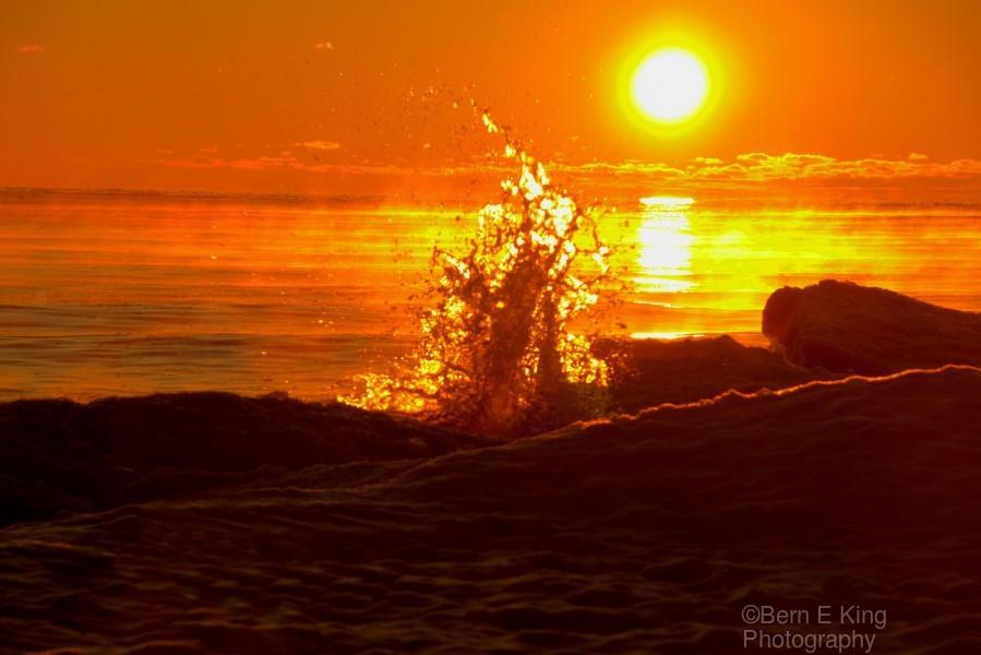Lake Michigan Sunrise   Print