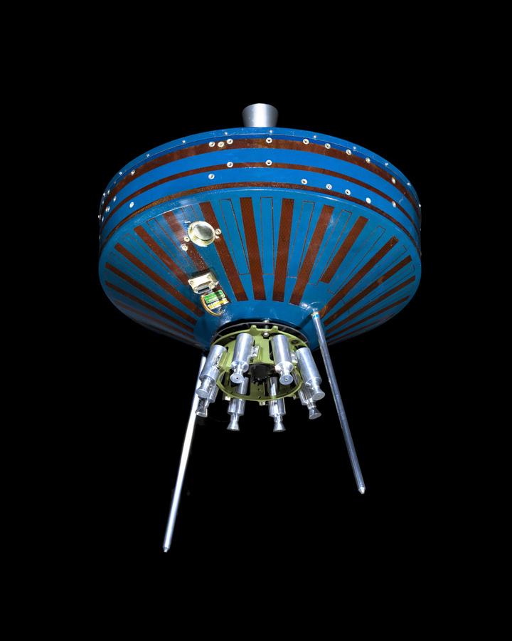 NASA Pioneer SatPioneer 1 Satellite Outer Space Image Space Imageellite Replica  Print
