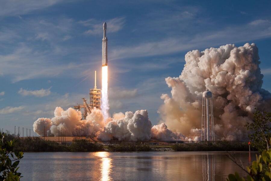 Falcon Heavy Demo Mission 020118  Print