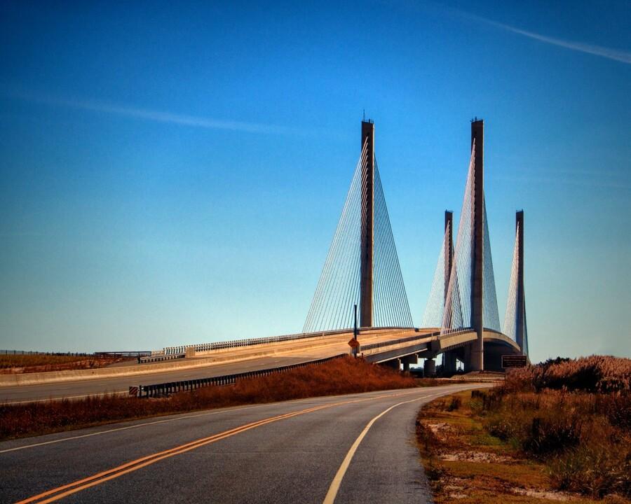 Indian River Bridge North Approach  Print