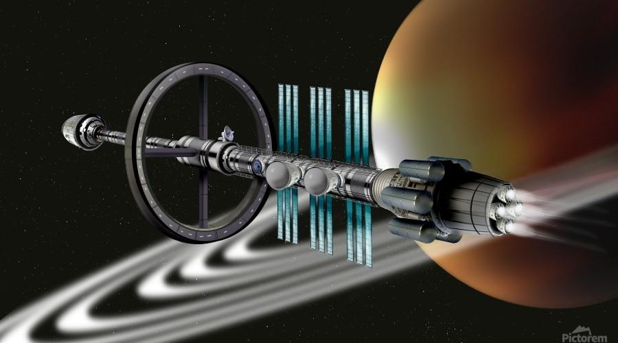 Starship Radial Alliance  Print