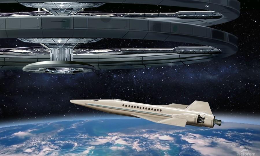 Shuttle104  Print